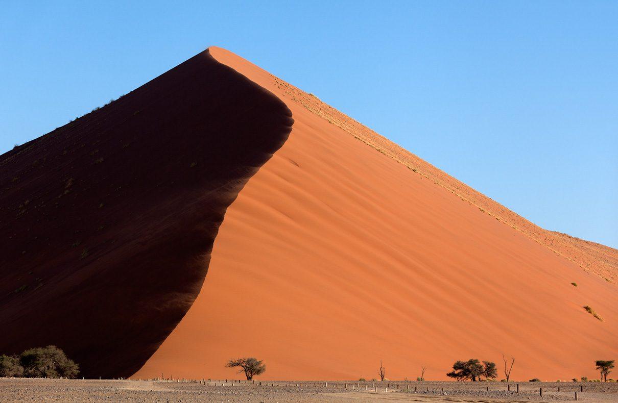 Düne 45, Sanddünen im Namib Naukluft Park – Namibia