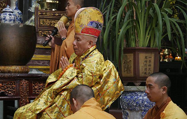 Priester Tempelanlage in Hue