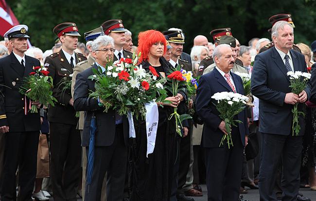 Riga – Gedenktag | Mitglieder der Regierung